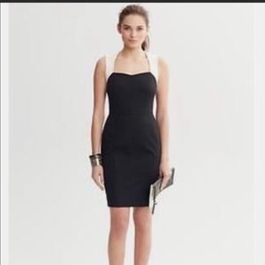 New Banana Republic Sloan fitted sheath dress
